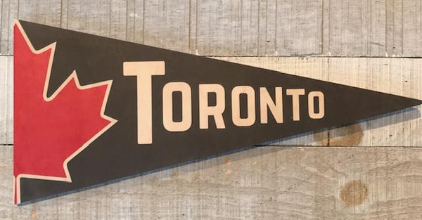 Clearance: Toronto Grey Pennant
