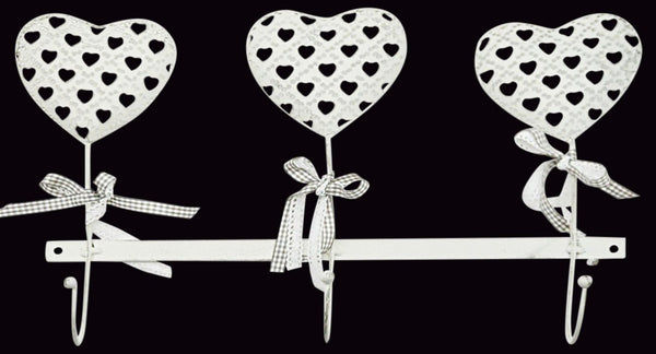 Heart Design Wall Heart Hooks