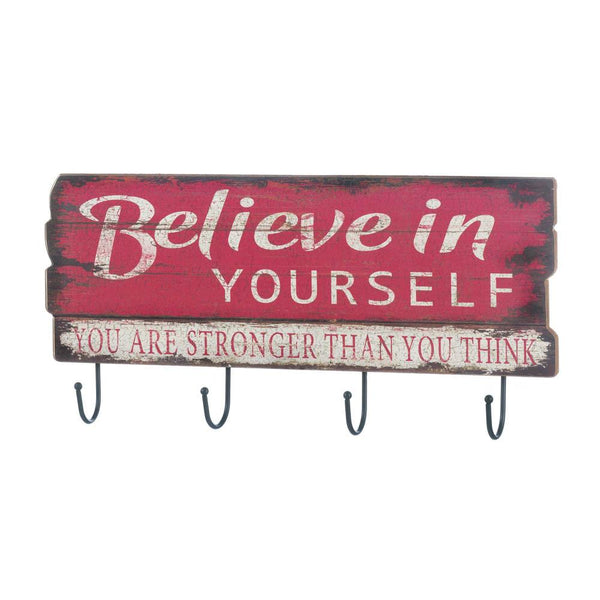 Believe In Yourself Wall Hook - Home Decor US