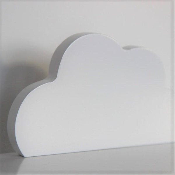Cloud White Wall Hook by Pixistuff