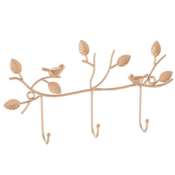 #COP3635 Metal Bird Design Wall Mounted Coat Rack