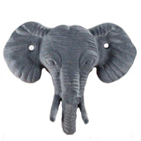 Gray Elephant Wall Hook - 4.5 inches