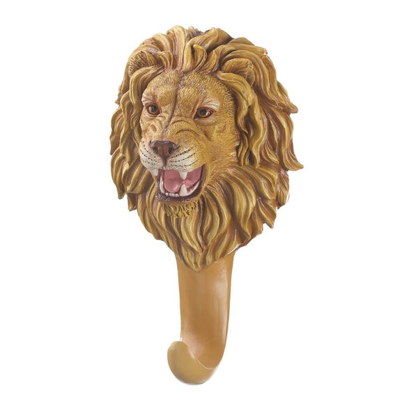 Ferocious Lion Wall Hook-US kitchen decor