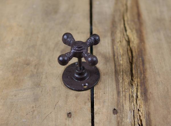 Old Tap Handle Cast Iron Wall Hook