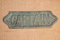 1 pc) Captain's quarters wall decor, hand cast iron bronze look,Captain's decor,free shipping,ready to paint, Christmas Gift, BL-47