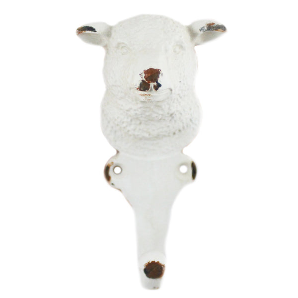 Pewter Lamb Wall Hook