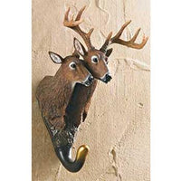 Whitetail Deer Pair Wall Hook
