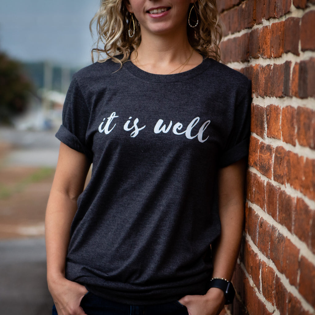 """It is Well"" Bella Canvas T-Shirt"