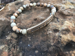 Scripture & Message Beaded Bracelets