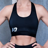 K7 Women's Sports Bra Black