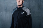 K7 Men's Quarter-Zip Training Top Black