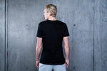 K7 Men's T-shirt Embroidered Black