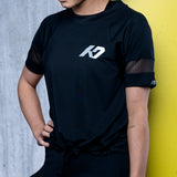K7 Women's Mesh Over T Black