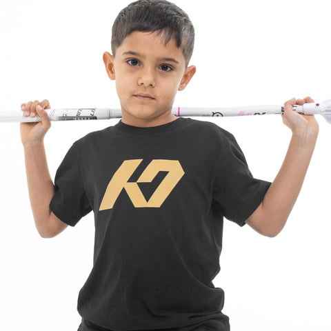 K7 Junior T-shirt Black/Gold Edt