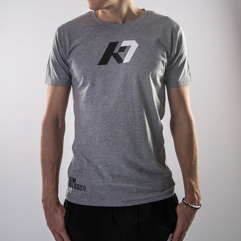 K7 Men's T-shirt Identity Grey