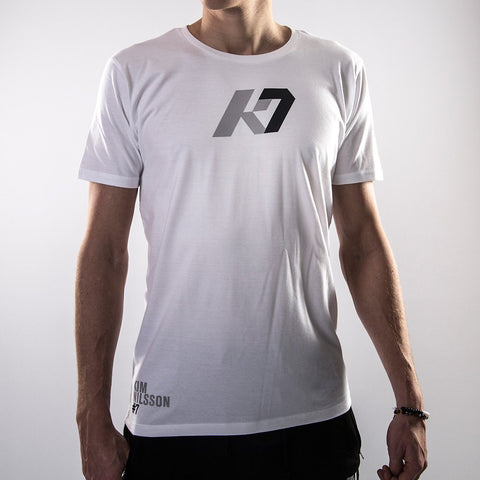 K7 Men's T-shirt Identity White