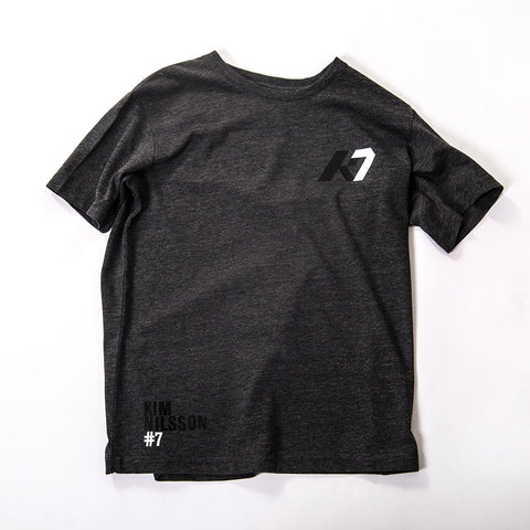 K7 Junior T-shirt Casual Dark Grey