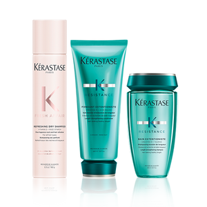 ROUTINE EXTENTIONISTE - SHAMPOOING SEC FRESH AFFAIR