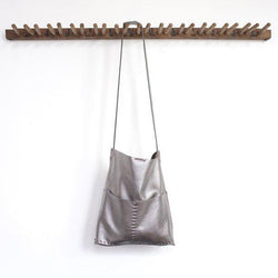 Alesia - Leather Bag - Gunmetal