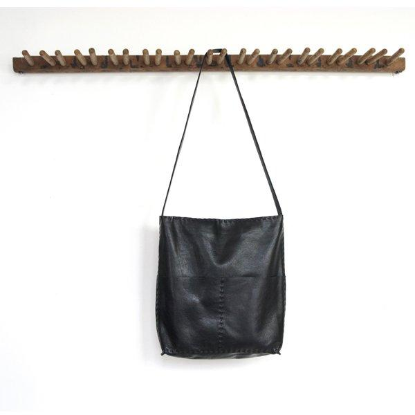 Alesia - Leather Bag - Black