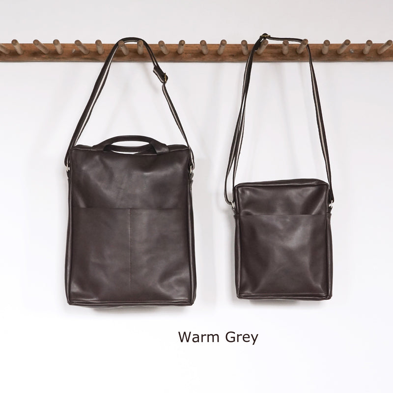 Unisex Computer Messenger Bag - Large or Small - Warm Grey - Price from
