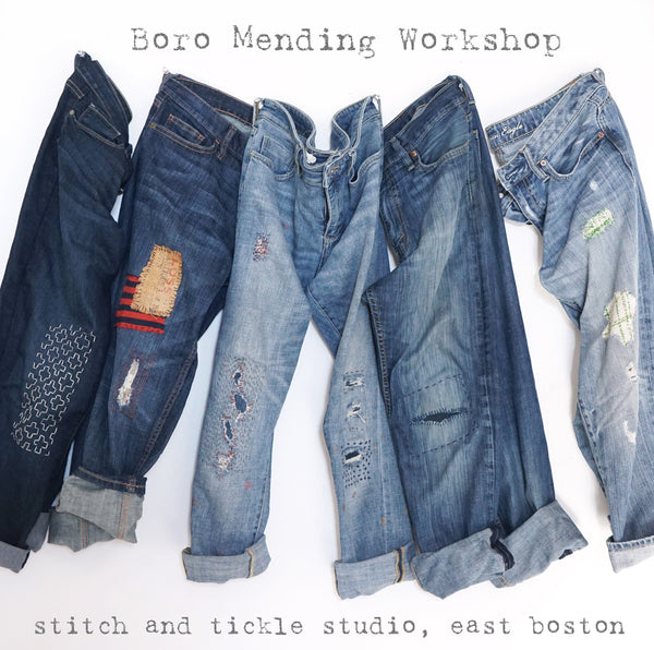 Boro Inspired Mending Workshop