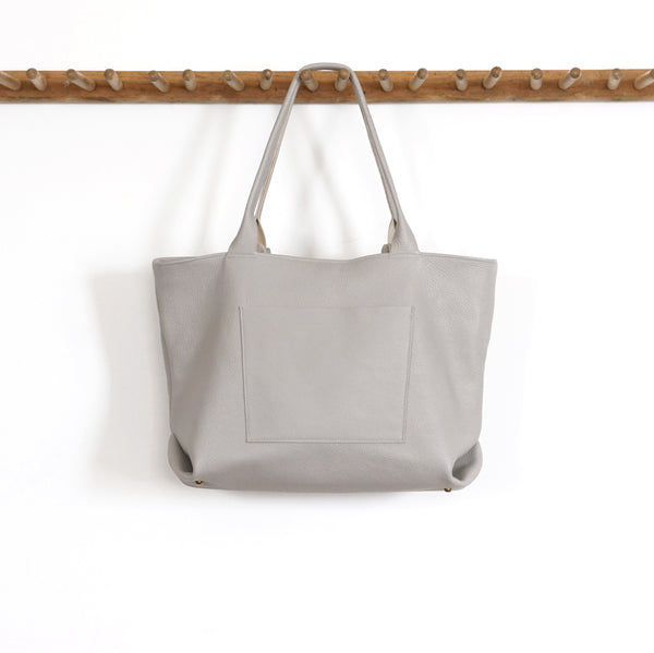 leather tote handmade