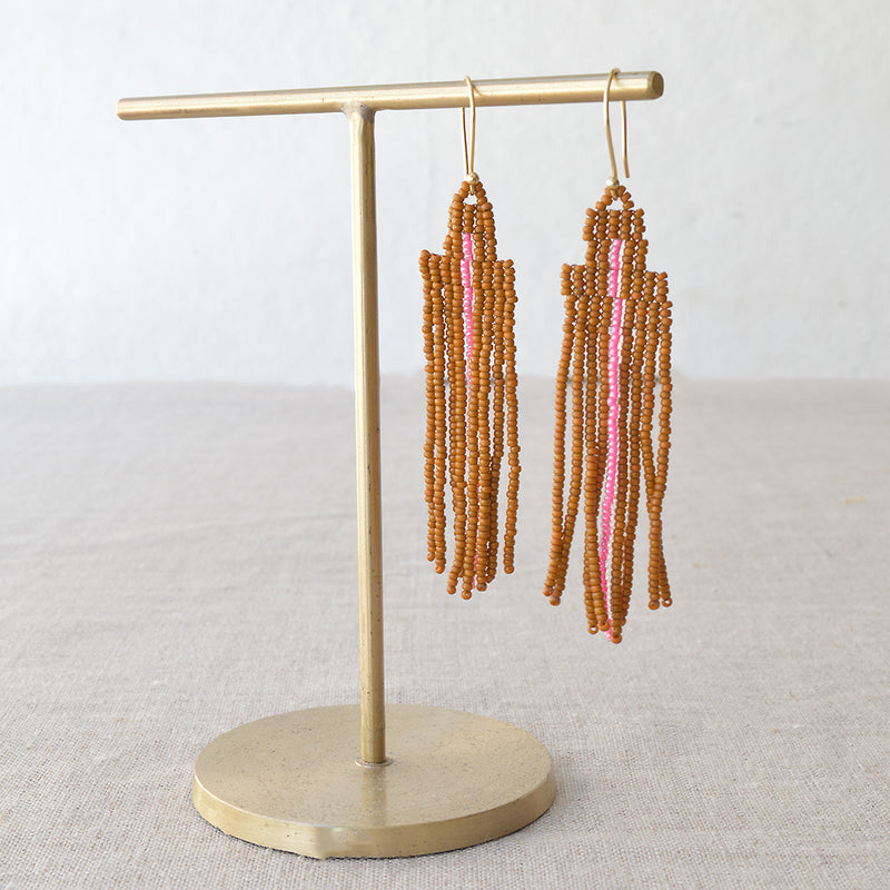 ALEX+SVET rubber necklace adjustable natural green  jewelry acrylic and rubber french necklace
