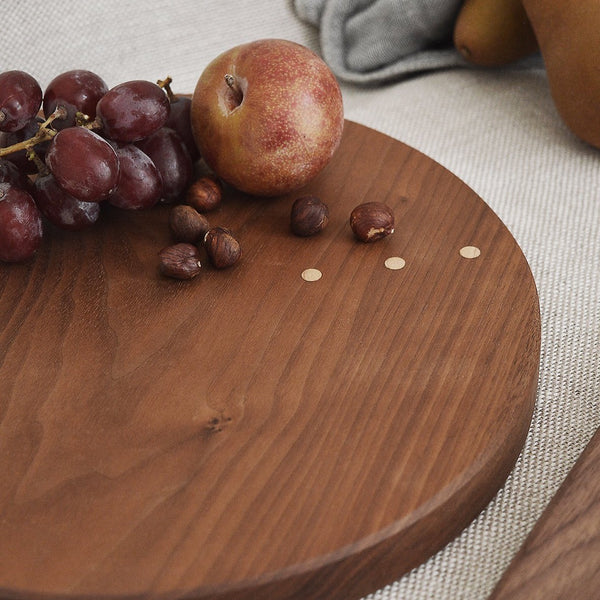 Walnut Board - round