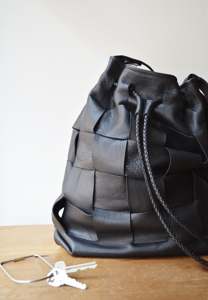 The Woven Bucket Bag