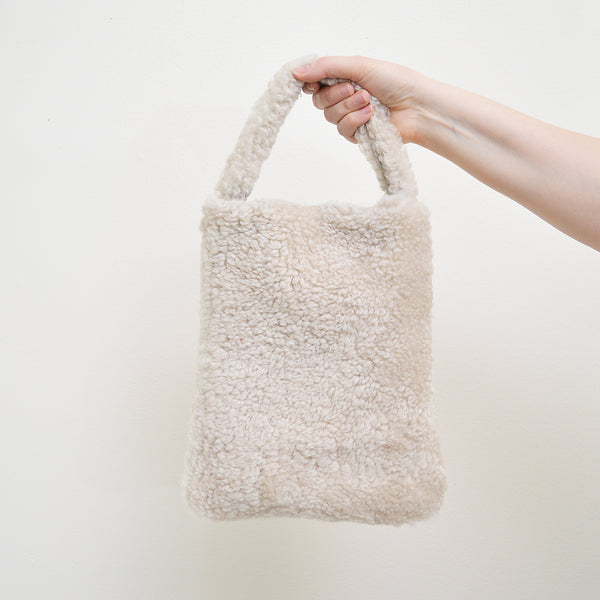 The Shearling Mini tote