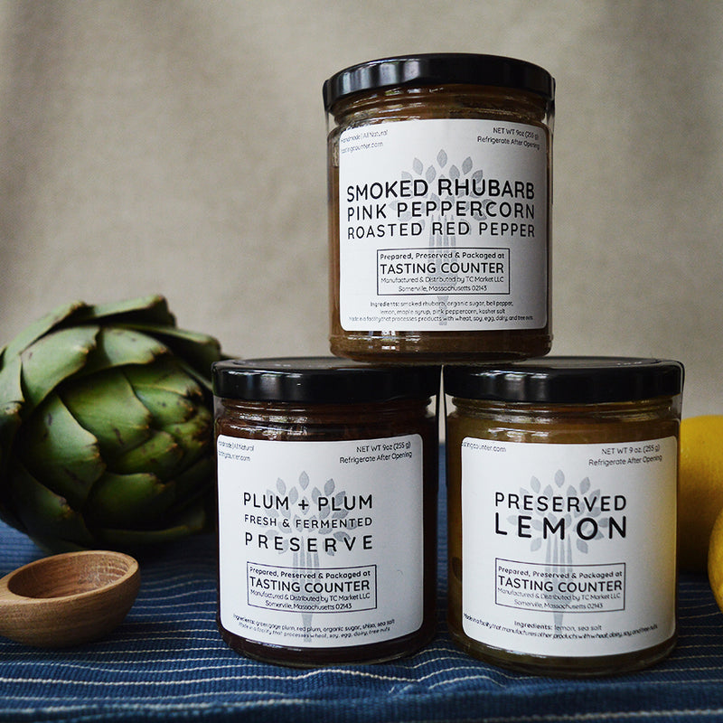 Tasting Counter Preserves