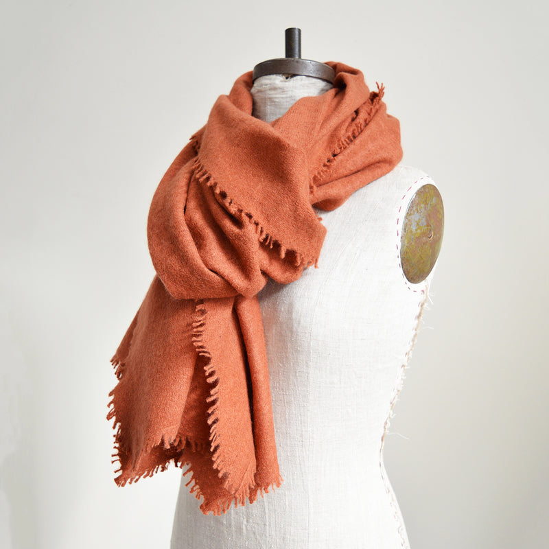 Cashmere and Wool Shawl Scarf
