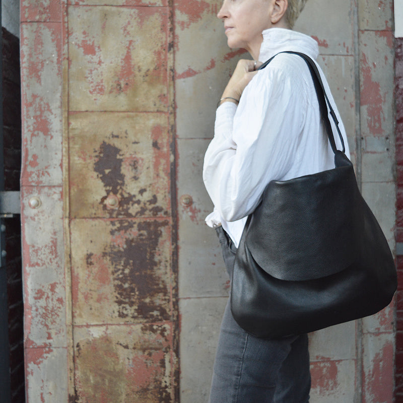 The Passy Messenger Bag :  Hobo or  Crossbody