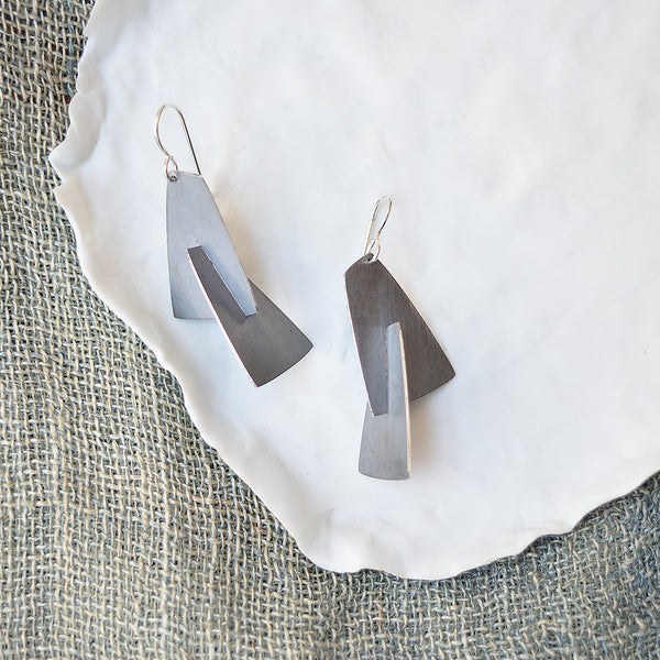 Wedge Splice Earrings