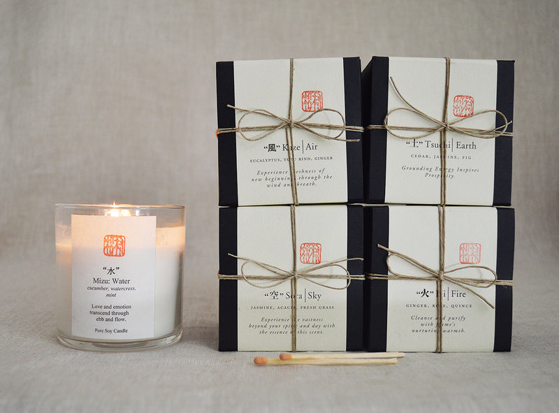 Japanese 5 Elements Soy Candles