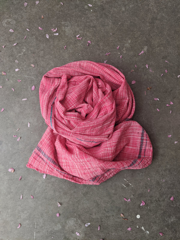 cotton khadi scarf (homespun and handwoven) Auntie Oti