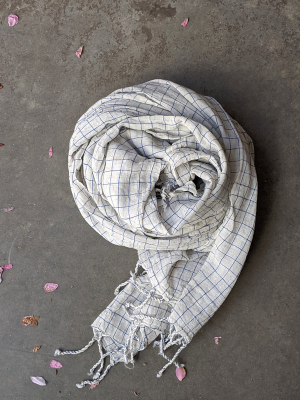 cotton khadi scarf