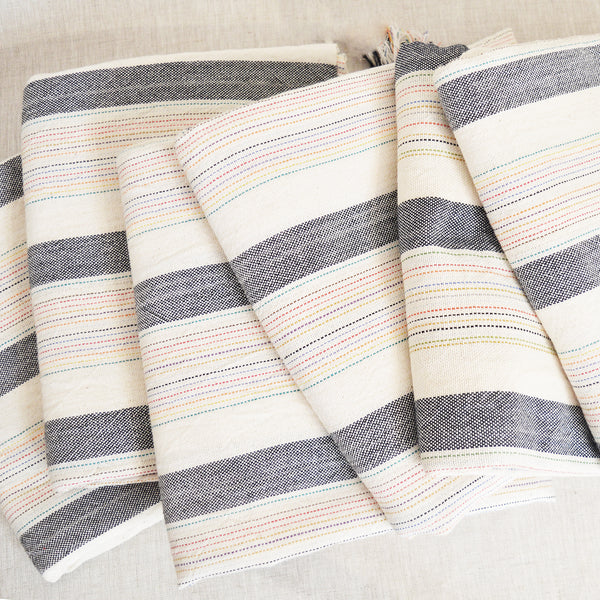 Hand loomed and hand dyed by skilled artisans, this Turkish towels / throws are known for their softness, durability and versatility.  Perfect to travel as they requires less space than a regular towel.