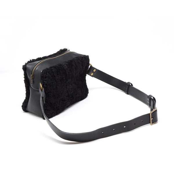 The Opera Shearling Belt Bag