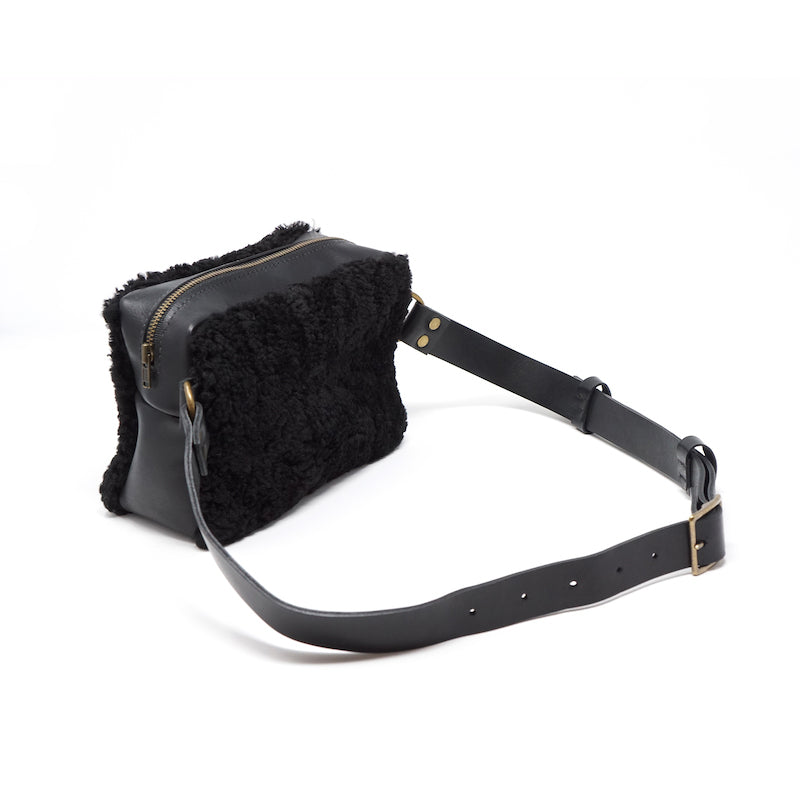 The Opera Shearling Belt Bag - Price from