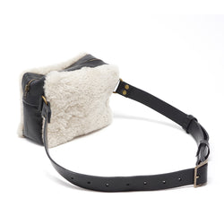 Stitch and Tickle shearling  handmade leather bags made in boston belt  bag fannypack hipbag handbag tote