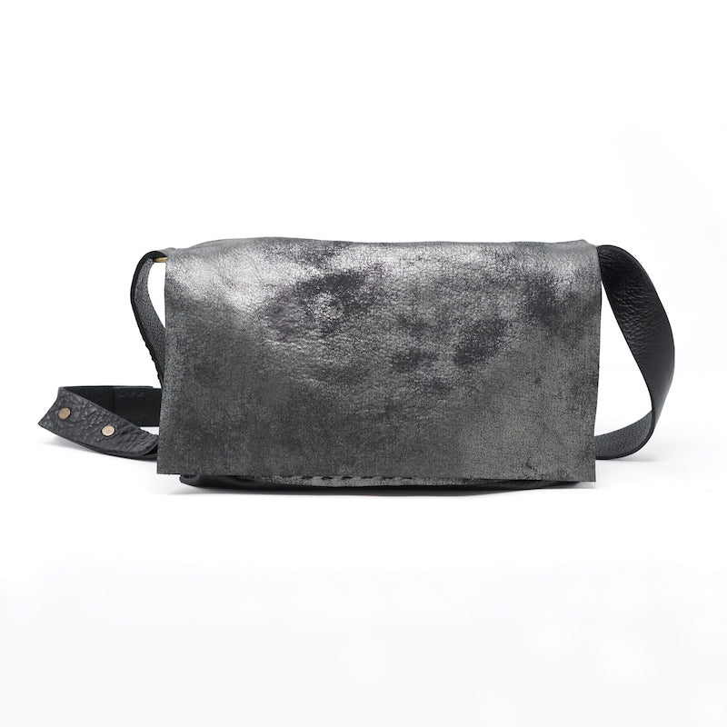 Stitch and Tickle shearling handmade leather bags made in boston messenger bag hobo shoulderbag handbag tote