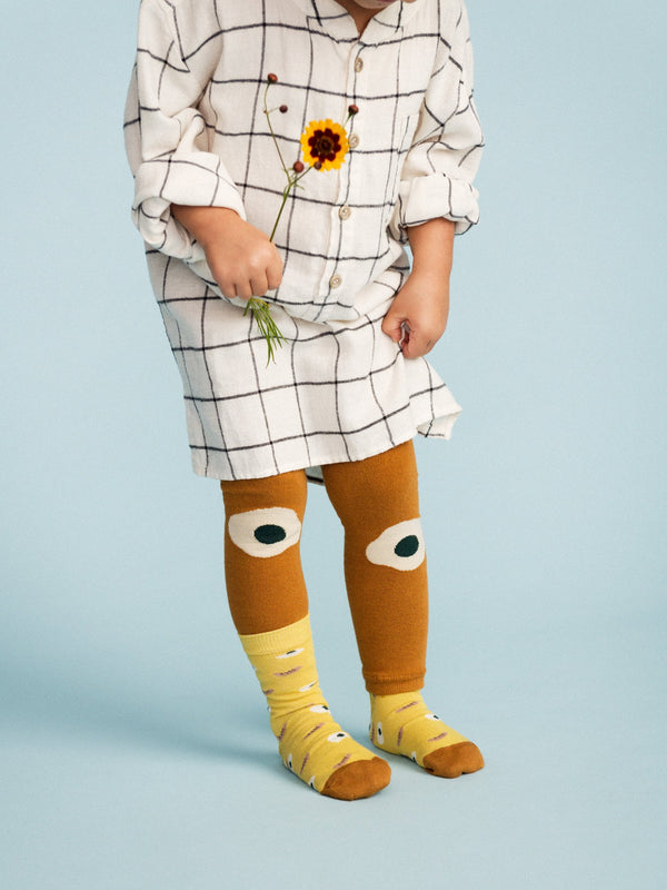 Kid's Footless Tights - Over Easy