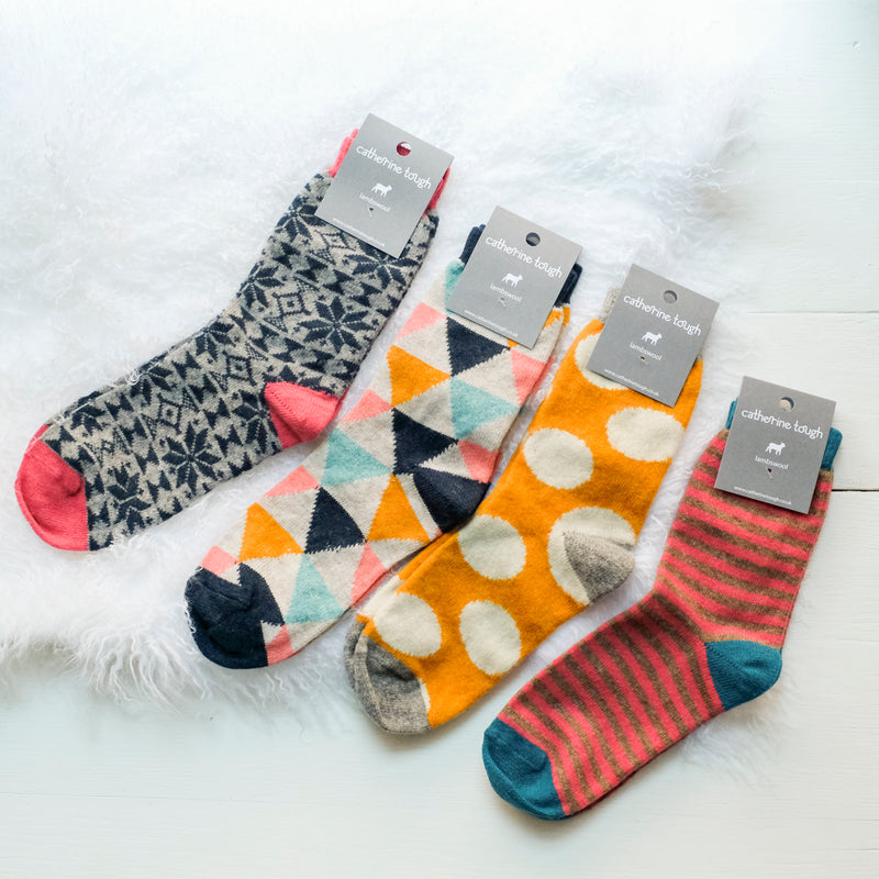 Women's Lambswool Socks