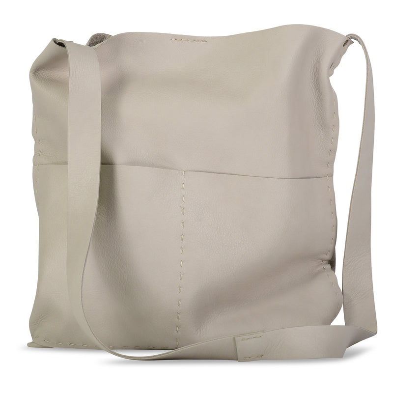 Alma or Alesia - Crossbody Messenger Bag - Oyster - Price from
