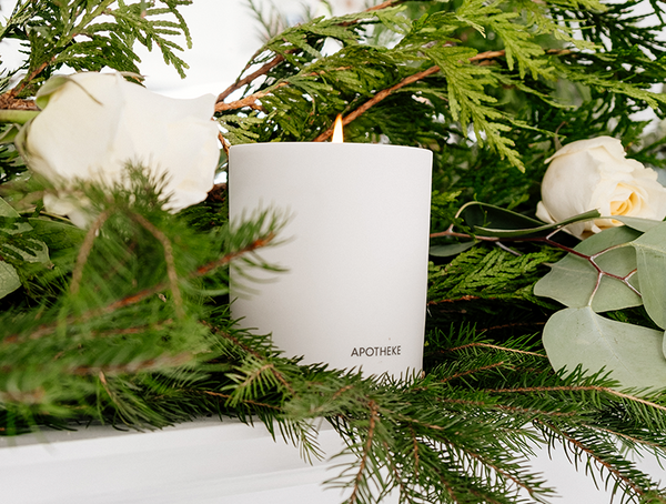 Apotheke Holiday Candle