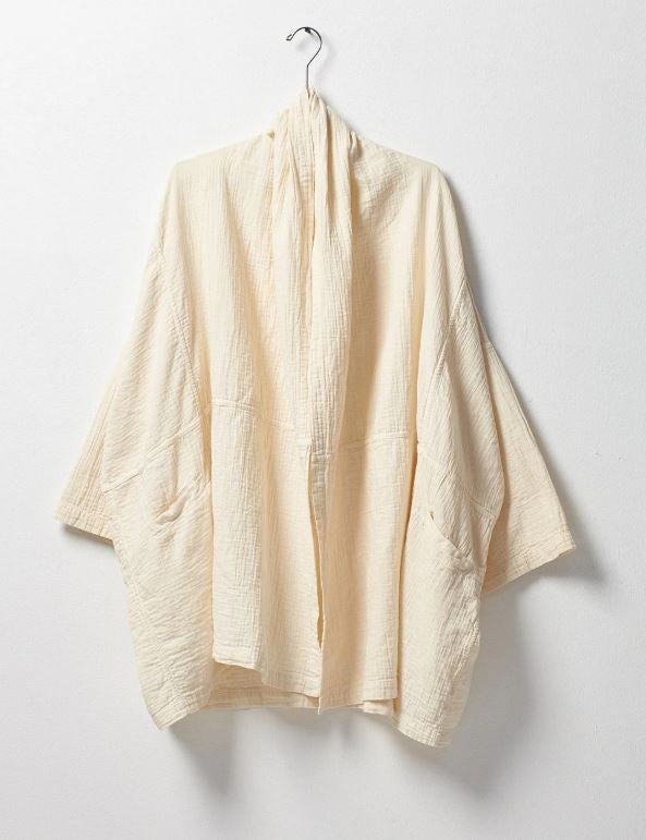 Haori Coat - Cream