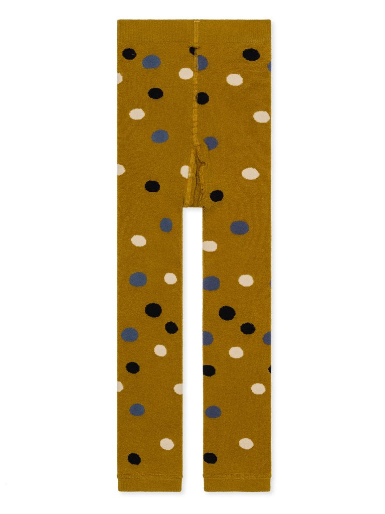 Kid's Footless Tights - Dots