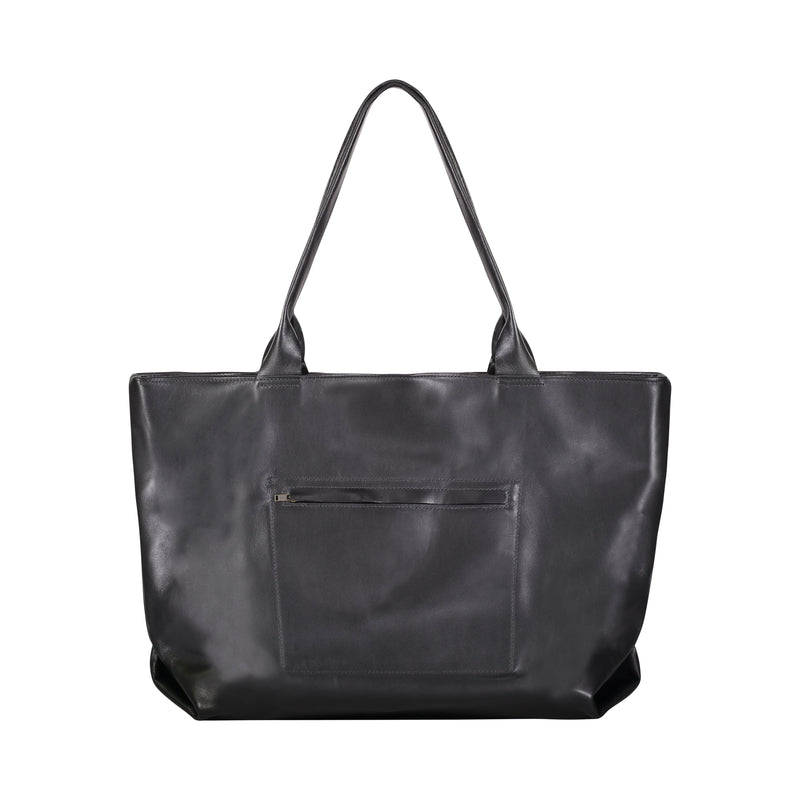 Concorde Leather tote - Black